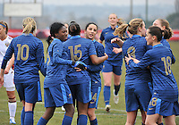 France U19 - Russia U19 : France Celebrating their goal(s).foto DAVID CATRY / Nikonpro.be
