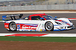 Christian Fittipaldi (5), Driver of Action Express Racing Corvette in action during the Grand-Am of the Americas practice and qualifying sessions at the Circuit of the Americas race track in Austin,Texas...