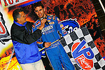 Nov 06, 2009; 12:43:24 AM; Concord, NC, USA; The Topless Showdown presented by Hungry-Man features the cars and stars of the World of Outlaws Late Model Series competing at The Dirt Track @ Lowe's Motor Speedway.  Mandatory Credit: (thesportswire.net)