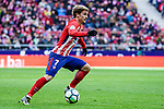 Antoine Griezmann of Atletico de Madrid in action during the La Liga 2017-18 match between Atletico de Madrid and RC Celta de Vigo at Wanda Metropolitano on March 11 2018 in Madrid, Spain. Photo by Diego Souto / Power Sport Images