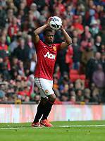 Pictured: Patrice Evra.<br /> Re: Barclay's Premier League, Manchester City FC v Swansea City FC at the Old Trafford Stadium, Manchester.