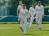 21st September 2021; Aigburth, Merseyside, England; County Championship Cricket, Lancashire versus Hampshire, Day 1; Lancashire keeper Alex Davies, who leaves the county at the end of this season to join Warwickshire next year