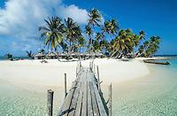 Isla Kuanidup, San Blas Islands, Panama.