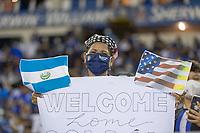 SAN SALVADOR, EL SALVADOR - SEPTEMBER 2: Fans during a game between El Salvador and USMNT at Estadio Cuscatlán on September 2, 2021 in San Salvador, El Salvador.