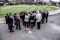 180510 Cricket - NZ Cricket Museum Stand Announcement