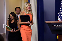 White House Press Secretary Kayleigh McEnany speaks during a press briefing at the White House in Washington, DC on June 29, 2020. Photo Credit: Yuri Gripas/CNP/AdMedia