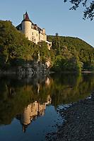 Europe/France/Midi-Pyrénées/46/Lot/Vallée de la Dordogne/Lacave: Château de la Treyne (reconstruit au XVII ème siècle) Relais & Château