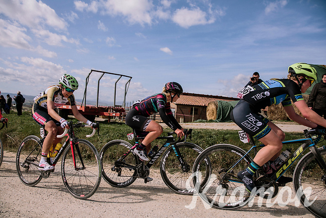 Hannah Ludwig (DEU/Canyon-SRAM)<br /> <br /> 5th Strade Bianche WE (1.WWT)<br /> One day race from Siena to Siena (136km)<br /> <br /> ©JojoHarper for kramon