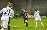 Marcel Seegert (SV Waldhof Mannheim, #5) und Kasim Rabihic (SC Verl, 9) im Duell um den Ball beim Spiel in der 3. Liga, SV Waldhof Mannheim - SC Verl.<br /> <br /> Foto © PIX-Sportfotos *** Foto ist honorarpflichtig! *** Auf Anfrage in hoeherer Qualitaet/Aufloesung. Belegexemplar erbeten. Veroeffentlichung ausschliesslich fuer journalistisch-publizistische Zwecke. For editorial use only. DFL regulations prohibit any use of photographs as image sequences and/or quasi-video.