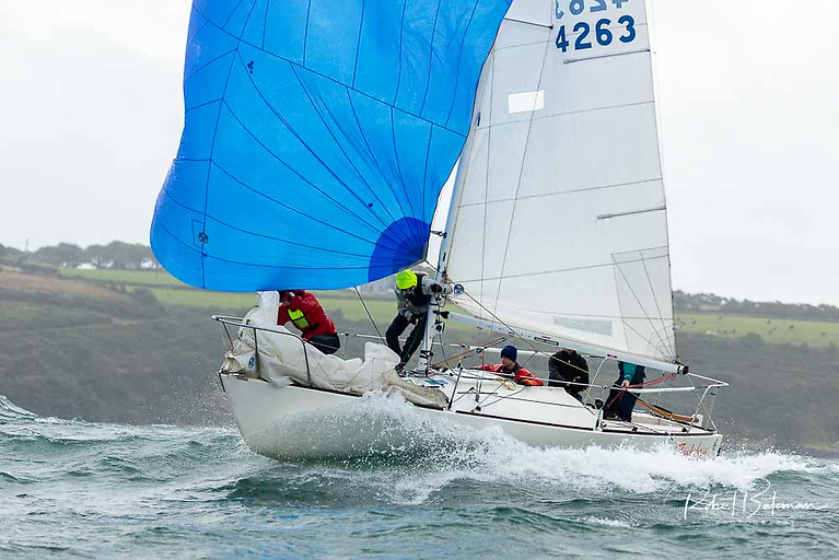 Kinsale Yacht Club is planning to acquire a suitable yacht (most likely a J/24 like the Royal Cork club boat (pictured above) for its new under 25 team