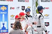IMSA WeatherTech SportsCar Championship<br /> Chevrolet Sports Car Classic<br /> Detroit Belle Isle Grand Prix, Detroit, MI USA<br /> Saturday 3 June 2017<br /> 93, Acura, Acura NSX, GTD,  Katherine Legge, 63, Ferrari, Ferrari 488 GT3, GTD,  Christina Nielsen<br /> World Copyright: Richard Dole<br /> LAT Images<br /> ref: Digital Image RD_DTW_17_0403