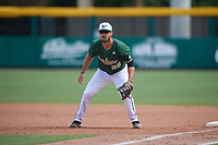 USF Bulls first baseman Joe Genord (20) during a game against the Dartmouth Big Green on March 17, 2019 at USF Baseball Stadium in Tampa, Florida.  USF defeated Dartmouth 4-1.  (Mike Janes/Four Seam Images)