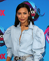 13 July 2020 - Naya Rivera, the actress best known for playing cheerleader Santana Lopez on Glee, has been confirmed dead. Rivera, 33, is believed to have drowned while swimming in the lake with her 4-year-old son, who was found asleep on their rental pontoon boat after it was overdue for return. 13 August 2017 - Los Angeles, California - Naya Rivera. Teen Choice Awards 2017 Arrivals held at The Galen Center in Los Angeles. Photo Credit: AdMedia