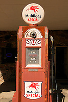 The restored Cool Springs gas station along Route 66, near Kingman, Arizona