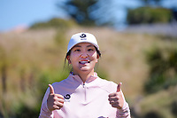 Darae Chung. Day two of the Renaissance Brewing NZ Stroke Play Championship at Paraparaumu Beach Golf Club in Paraparaumu, New Zealand on Friday, 19 March 2021. Photo: Dave Lintott / lintottphoto.co.nz
