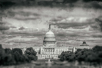 US Capitol Washington DC Black and White Photography Washington DC Art - - Framed Prints - Wall Murals - Metal Prints - Aluminum Prints - Canvas Prints - Fine Art Prints Washington DC Landmarks Monuments Architecture