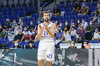 13th October 2021; Wizink Center; Madrid, Spain; Turkish Airlines Euroleague Basketball; game 3; Real Madrid versus AS Monaco; Sergio Llull (Real Madrid Baloncesto)