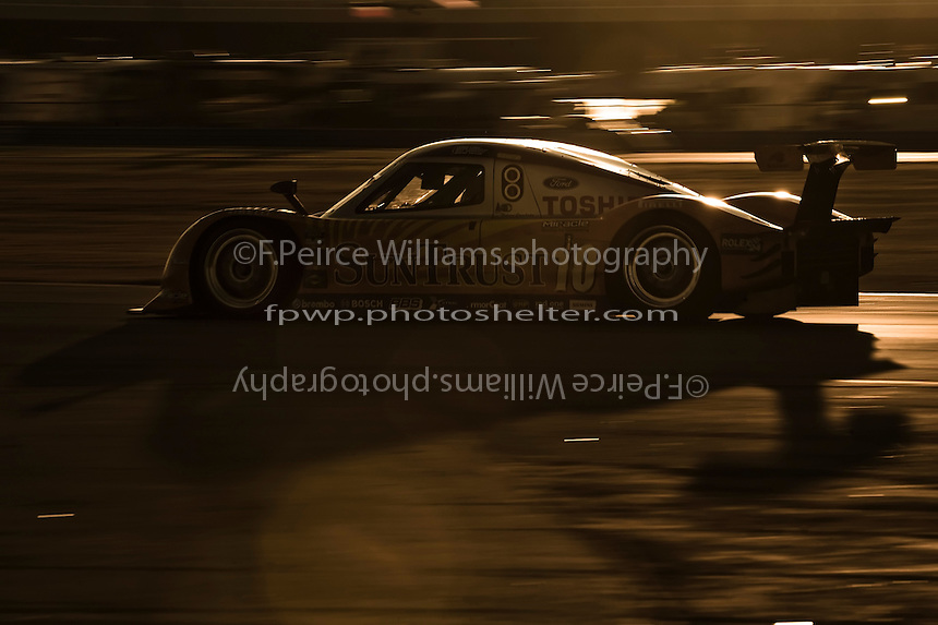 22-25 January, 2009, Daytona Beach, Florida USA.#10 SunTrust Racing Pontiac/Dallara of Max Angelelli,Brian Friselle, Pedro Lamy & Wayne Taylor.©F.Peirce Williams 2009.F.Peirce Williams.photography