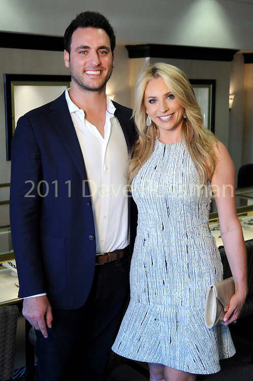 Lane Craft and Chita Johnson at the Lauren Craft trunk show at I.W. Marks Jewelry Tuesday May 3,2016(Dave Rossman Photo)
