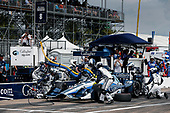 2017 Verizon IndyCar Series - Firestone Grand Prix of St. Petersburg<br /> St. Petersburg, FL USA<br /> Sunday 12 March 2017<br /> Max Chilton pit stop<br /> World Copyright:Sam Cobb/LAT Images<br /> ref: Digital Image cobb-stpete-170312-4406