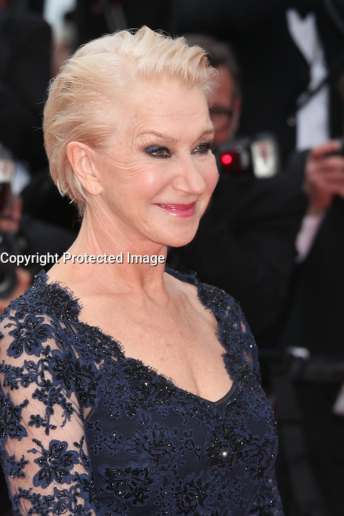 HELEN MIRREN - RED CARPET OF THE FILM 'LA FILLE INCONNUE' AT THE 69TH FESTIVAL OF CANNES 2016
