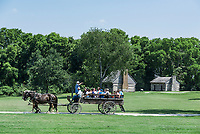 The Hermitage is a historical plantation and museum which was previously the home of President Andrew Jackson,