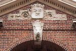 N.A., USA, Massachussetts, Cambridge, Harvard University Gate Detail