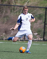 The Winthrop University Eagles played the UNC Wilmington Seahawks in The Manchester Cup on April 5, 2014.  The Seahawks won 1-0.  Michael Mecham (3)
