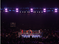 MINNEAPOLIS, MN - JUNE 27:  David Morrell Jr. (5-0, 4 KOs) defeated challenger Mario Cázares (12-1, 5 KOs) on the Fox Sports PBC fight at The Armory on June 27, 2021 in Minneapolis, Minnesota. (Photo by Carlos Gonzalez/Fox Sports/PictureGroup)