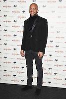 "Andre Ayew<br /> arrives for the ""Iron Men"" premiere at the Mile End Genesis cinema, London.<br /> <br /> <br /> ©Ash Knotek  D3236  02/03/2017"
