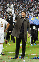 Pictured: Michael Laudrup. Sunday 24 February 2013<br /> Re: Capital One Cup football final, Swansea v Bradford at the Wembley Stadium in London.