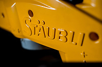 Detail shot of a Staubli robotic arm