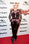 Singer Najwa Nimri attends the 2013 Rolling Stone Awards ceremony photocell at Kapital theater in Madrid, Spain. November 28, 2013. (ALTERPHOTOS/Victor Blanco)