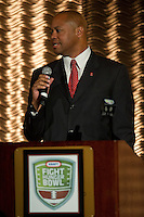 2011 Kraft Fight Hunger Bowl sponsored the  Pac 12 Bay Area Football Media Day, with San Jose State, Stanford, and the University of California, Berkeley, in San Francisco, California, Monday, Aug. 1, 2011.