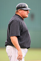 June 13th 2008:  Manager Mark Haley of the South Bend Silver Hawks, Class-A affiliate of the Arizona Diamondbacks, during a game at Stanley Coveleski Regional Stadium in South Bend, IN.  Photo by:  Mike Janes/Four Seam Images