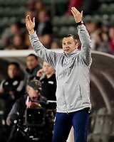 CARSON, CA - FEBRUARY 7: Vlatko Andonovski head coach of the United States during a game between Mexico and USWNT at Dignity Health Sports Park on February 7, 2020 in Carson, California.