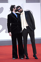 Damiano D'Innocenzo and Fabio D'Innocenzo attending the America Latina Premiere as part of the 78th Venice International Film Festival in Venice, Italy on September 09, 2021. <br /> CAP/MPI/IS/PAC<br /> ©PAP/IS/MPI/Capital Pictures