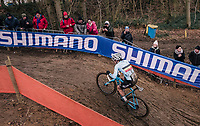 Sanne Cant (BEL/Iko-Beobank) on her way to another World Title<br /> <br /> Women Elite Race<br /> UCI CX Worlds 2018<br /> Valkenburg - The Netherlands
