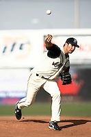 May 19  2007: Matt Goodson of the Lancaster JetHawks pitches against the Lake Elsinore Storm at Clear Channel Stadium in Lancaster,CA.  Photo by Larry Goren/Four Seam Images