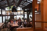 Europe/France/Aquitaine/33/Gironde/Bassin d'Arcachon/Le Cap Ferret: Restaurant: Pinasse Café, 2bis, avenue de l'Océan, [Non destiné à un usage publicitaire - Not intended for an advertising use]