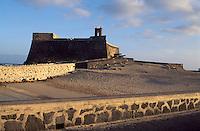Spanien, Kanarische Inseln, Lanzarote, Arrecife, Castillo de San Gabriel