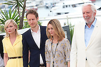 KIRSTEN DUNST, LASZLO NEMES, VANESSA PARADIS AND DONALD SUTHERLAND - PHOTOCALL OF THE JURY AT THE 69TH FESTIVAL OF CANNES 2016
