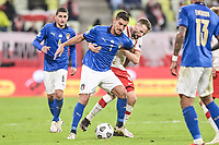 11.10.2020 GDANSK PILKA NOZNA - LIGA NARODOW UEFA MECZ GRUPY A POLSKA - WLOCHY Football - UEFA Nations League group A match Poland - Italy N/Z TOMASZ KEDZIORA LORENZO PELLEGRINI FOT MATEUSZ SLODKOWSKI / FOTONEWS / NEWSPIX.PL --- Newspix.pl PUBLICATIONxNOTxINxPOL 20201011FNMS217 <br /> Danzica Nations League Gruppo A Polonia Italia Football - UEFA Nations League group A match Poland - Italy <br /> ITALY ONLY