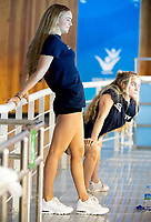 Great Britain Athletes warm up<br /> Gwangju South Korea 18/07/2019<br /> Artistic Swimming Free Combination Preliminaries<br /> 18th FINA World Aquatics Championships<br /> Yeomju Gymnasium <br /> Photo © Giorgio Scala / Deepbluemedia / Insidefoto