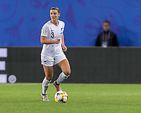 GRENOBLE, FRANCE - JUNE 15: Anna Green #3 of the New Zealand National Team dribbles during a game between New Zealand and Canada at Stade des Alpes on June 15, 2019 in Grenoble, France.