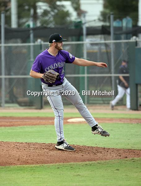 Lucas Gilbreath - 2020 AIL Rockies (Bill Mitchell)
