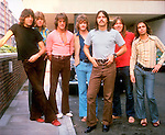 CHICAGO 1971 Robert Lamm. Peter Cetera, James Pankow, Lee Loughnane, Walt Parazaider, Terry Kath, Keith Seraphine.