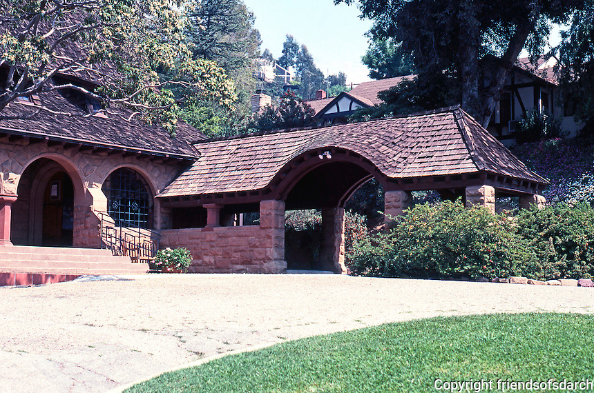 Church of the Angels, Pasadena CA. 1889.  Photo '89.