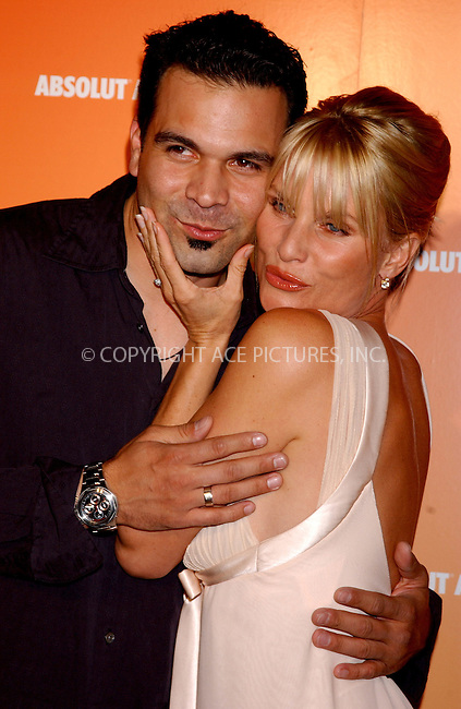 WWW.ACEPIXS.COM . . . . . ....NEW YORK, NEW YORK, MAY 16TH 2005....Nicollette Sheridan and Ricardo Chavira at the Absolut Peach launch at Koi in the Bryant Park Hotel....Please byline: KRISTIN CALLAHAN - ACE PICTURES.. . . . . . ..Ace Pictures, Inc:  ..Craig Ashby (212) 243-8787..e-mail: picturedesk@acepixs.com..web: http://www.acepixs.com
