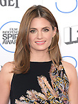 Stana Katic<br /> <br /> <br /> <br />  attends 2015 Film Independent Spirit Awards held at Santa Monica Beach in Santa Monica, California on February 21,2015                                                                               © 2015Hollywood Press Agency